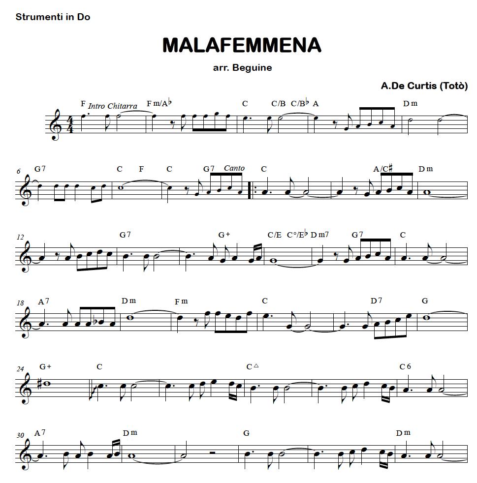 mp3 malafemmena napoletane